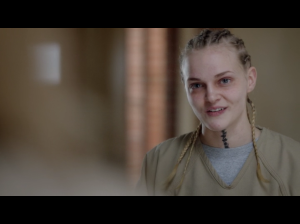 "Madeline Brewer as Patricia ""Tricia"" miller Screen: Netflix"