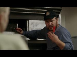 Matt Peters as Luschek     ( Screen : Netflix )