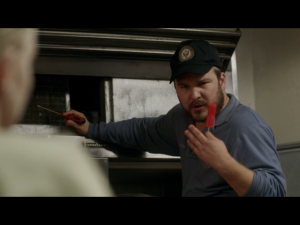 Matt Peters as Luschek     ( Screen : Netflix )