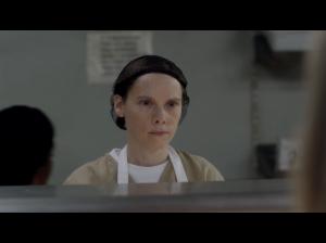 Abigail Savage as Gina Murphy ( Screen : Netflix )