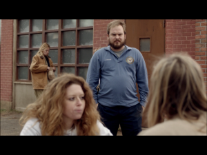 Matt Peters and Natasha Lyonne as Luschek and Nicky Nichols ( Screen : Netflix )