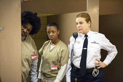 Adrienne C. Moore, Samira Wiley, and Catherine Curtin  ( Netflix )